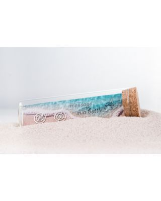 Message in a bottle - Ohrstecker
